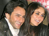 Saif Ali Khan and Kareena Kapoor