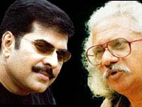 Mammootty and Adoor
