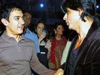 Aamir and SRK