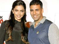 Akshay and Deepika