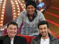 Rishi, Ranbir and Farhan