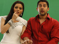 Aftab Shivdasani and Aamna Shariff