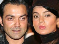 Bobby Deol and Kangana Ranaut