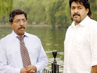 Mohanlal and Sreenivasan