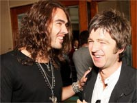 Russell Brand, Noel Gallagher
