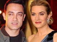 Aamir Khan and Kate Winslet