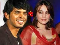 Minissha and Sreesanth