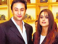 Preity and Ness