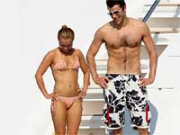 Hayden Panettiere, Steve Jones