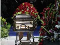 michael jackson Coffin