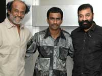 Nikhil Murugan, Rajinikanth and Kamal Hassan