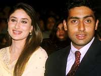 Kareena and Abhishek