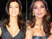 Sushmita Sen and Lara Dutta