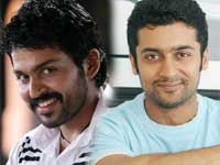 Surya and Karthi