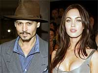 Johnny Depp and Megan Fox