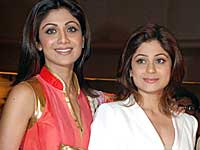 Shamita and Shilpa