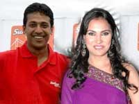 Lara Dutta and Mahesh Bhupathi