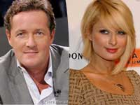Piers Morgan, Paris Hilton