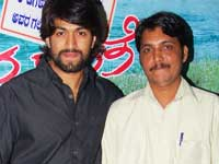 Yash with Shekhar