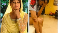 SHOCKING! Amrapali Gupta Injured As A Fan Pushes Her!
