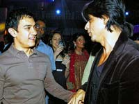 Shahrukh and Aamir