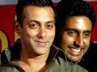 Abhishek and Salman