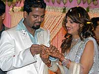 Rambha with Indran