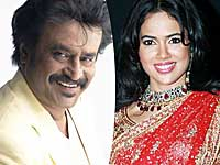 Rajinikanth and Sameera