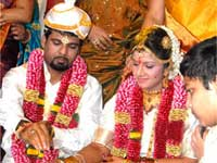 Rambha and Indhiran