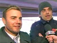 Gary Barlow, Robbie Williams