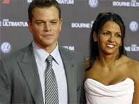 Matt Damon, Wife Luciana