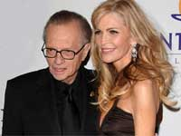 Larry King, wife Shawn