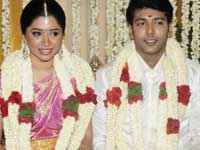 Jayam Ravi with Aarthi
