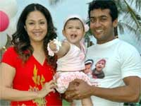 Surya and Jyothika