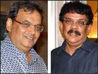 Subash Ghai and Priyadarshan
