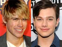 Chris Colfer and Chord Overstreet