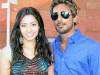 Varun Sandesh with Nisha Aggarwal