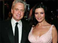Michael Douglas and Catherine