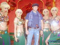 Salman in the promotional ad