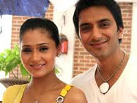 Sara Khan And Ali Merchant