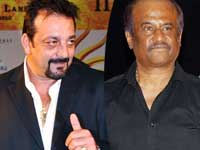 Sanjay Dutt and Rajinikanth