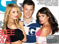 Lea Michelle, Cory Monteith and Dianna Agron