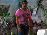 Salman in Bigg Boss house