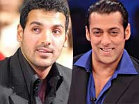 Salman Khan and John Abraham