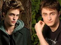 Daniel Radcliffe and Robert Pattinson