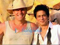 Shahrukh with Jeff
