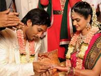 Allu Arjun-Sneha Reddy exchange rings