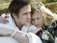 Kirsten Dunst and Ryan Gosling