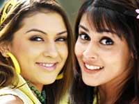 Genelia and Hansika