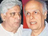 Mahesh Bhatt and Javed Akhtar